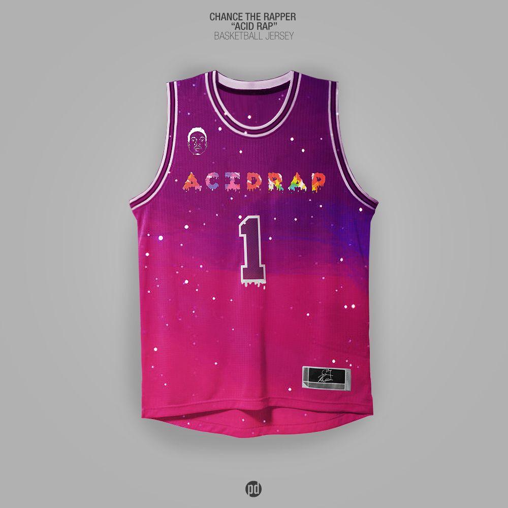 ab2ccc23fdd3f BarDown: Artist designs rap album cover basketball jerseys | 000 ...