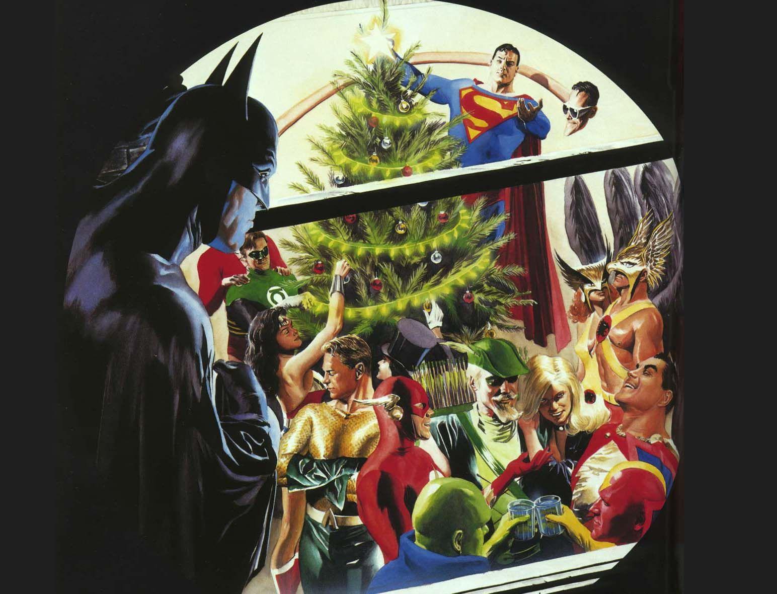 Dc Comics Christmas Google Search Christmastime Liga
