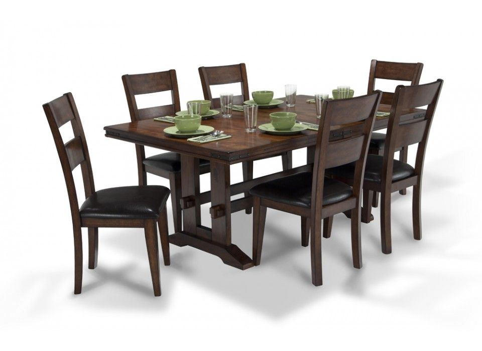 enormous dining 7 piece set | dining room sets | dining room