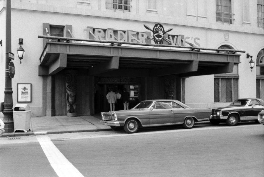 Trader Vic\'s Detroit. Statler Hilton Hotel. | Tiki of Detroit ...