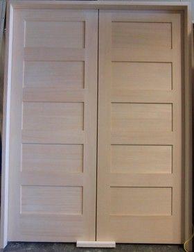 Attrayant 5 Panel Horizontal Roller Catch Pair   Modern   Interior Doors   Vancouver    Doorex