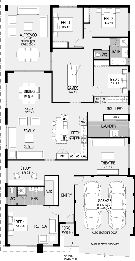 Home Designs Home Group Home Design Floor Plans Floor Plans Dream House Plans