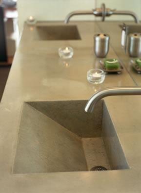 Geometric Slate Concrete Sinks California Concrete Designs Anaheim - Bathroom remodel anaheim ca