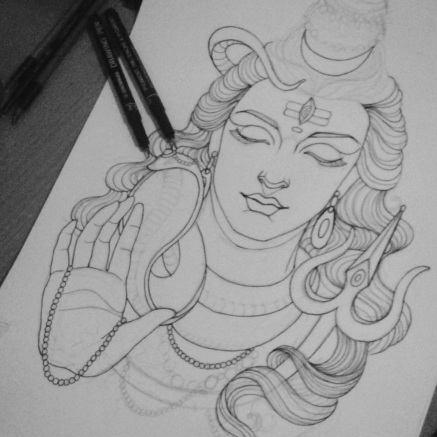 This is work in progress of lord shiva mahadev