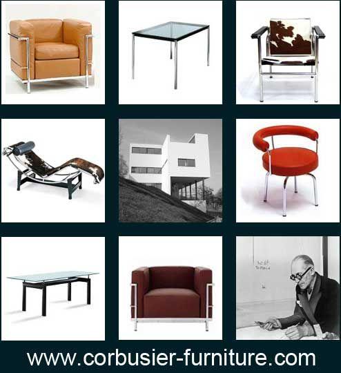 le Corbusier designs | Design Gurus | Pinterest | Bauhaus, Bauhaus ...