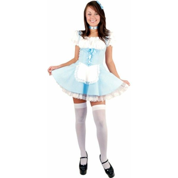 our sexy teen alice in wonderland dress makes for a cute and saucy teen halloween costume for a fun group costume idea consider any of our other teen - Fun Teenage Halloween Costumes
