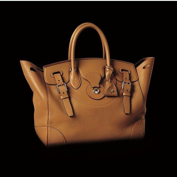 Ralph lauren ricky bag, brown bag