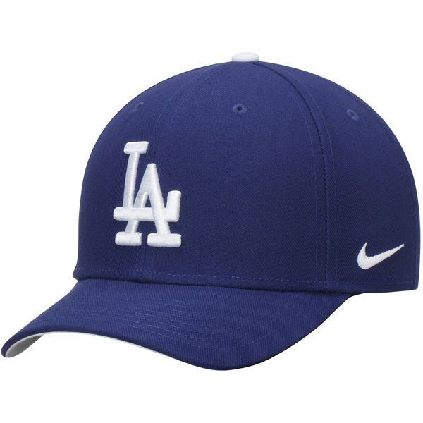 38c5521a1a7d0 Men s Los Angeles Dodgers Nike Royal Wool Classic Adjustable Performance Hat