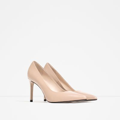 40 España Zapatos Mujer Zara Tacón Piel Salón vTxpzq