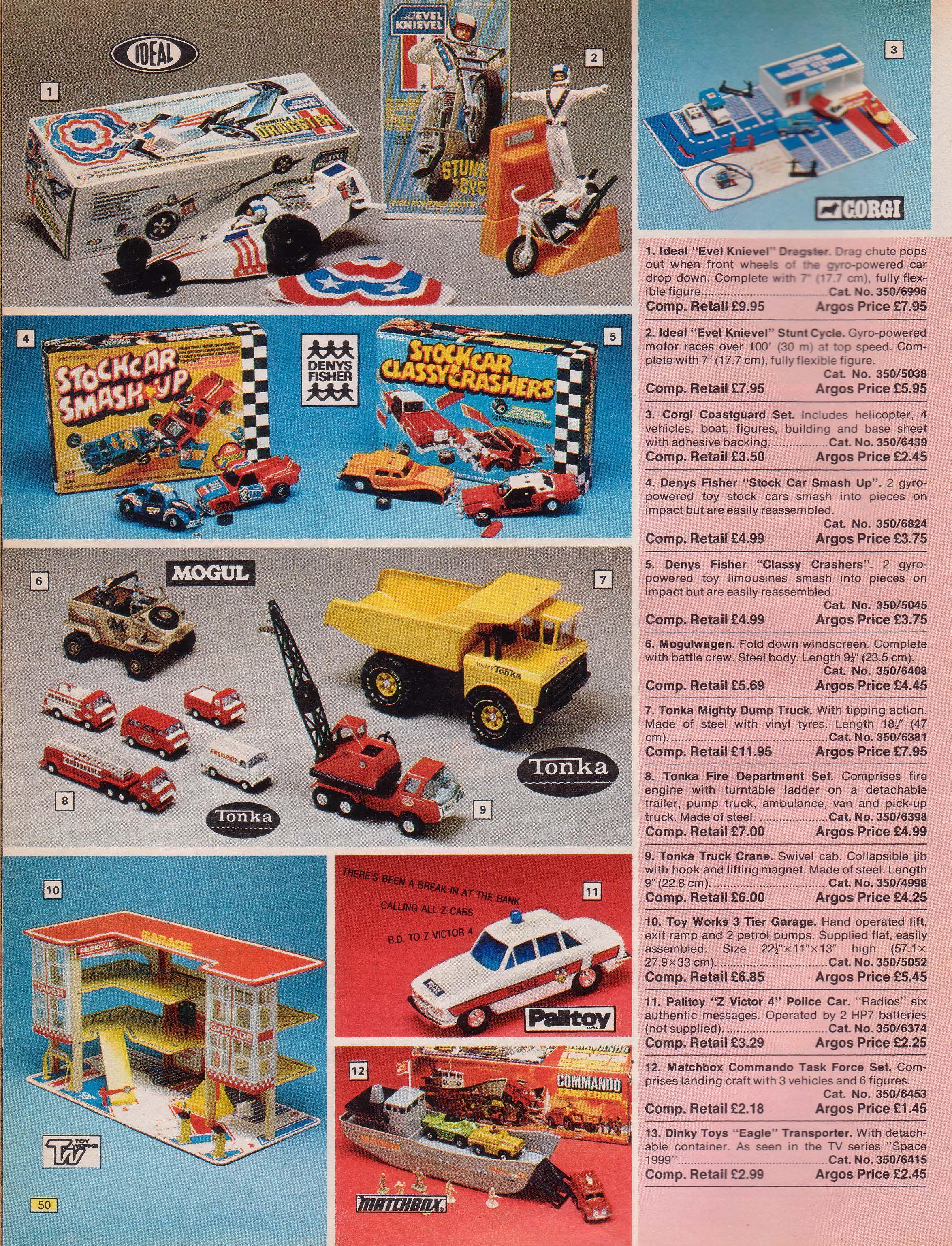 Argos 1976 Advertising Catalog Vintage Toys Toys