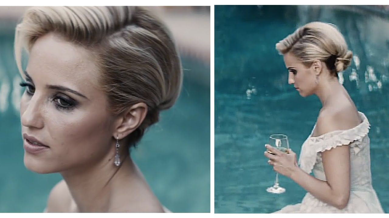 Us us updo inspired by dianna agron peinados pinterest