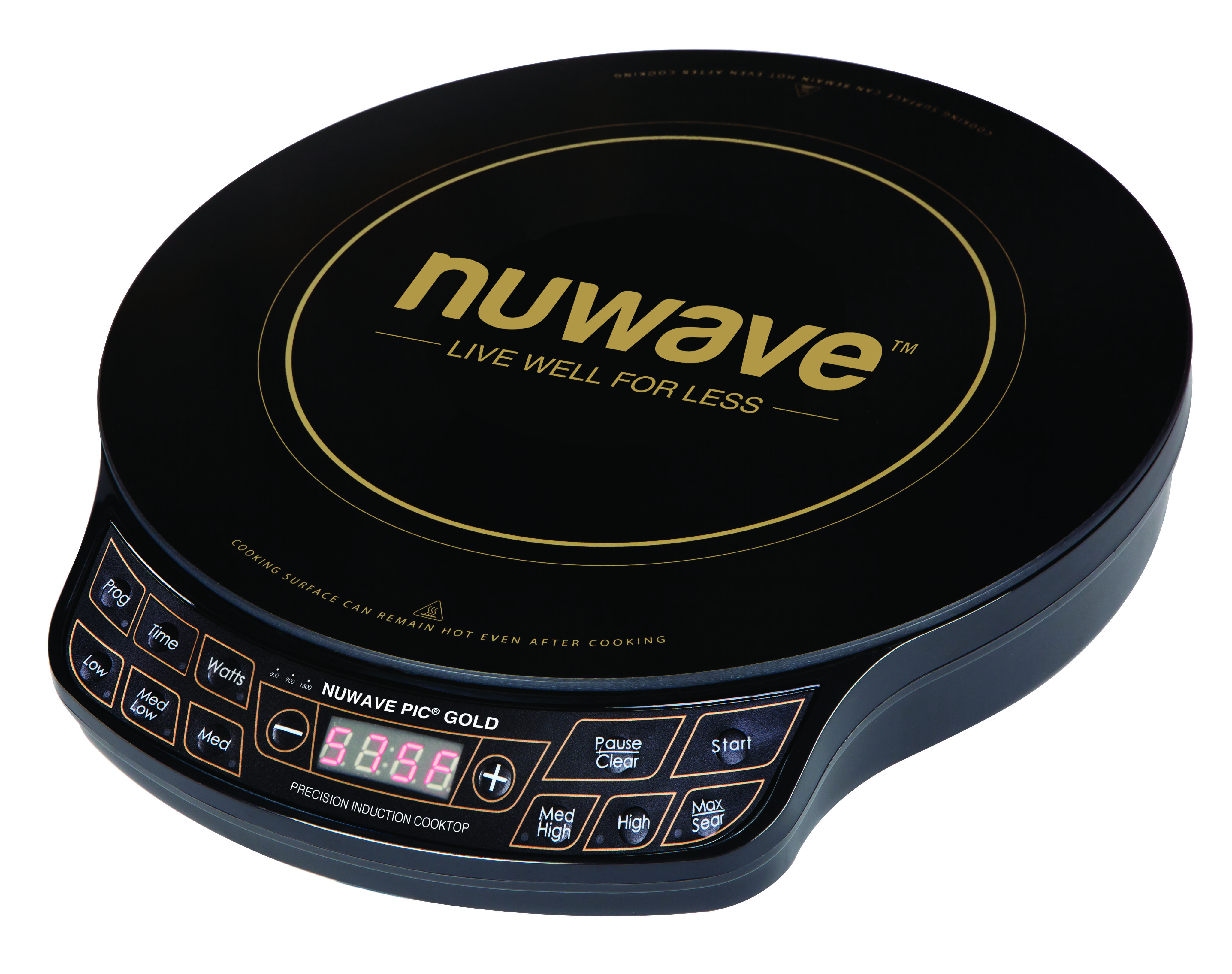 Nuwave Precision Induction Cooktop Gold Suggested Retail Price 149 99 Induction Cooktop Induction Cooking Cooktop