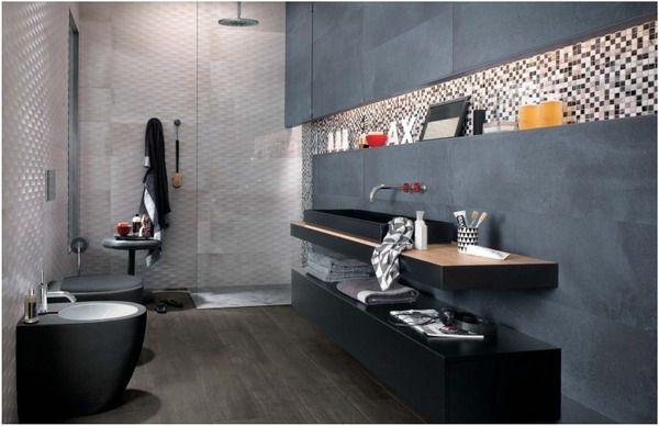 15 Badezimmer Fliesen Ideen \u2013 Keramik und Feinsteinzeug-Designs