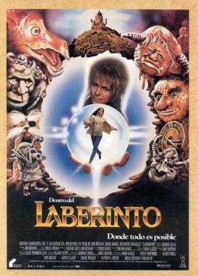 Dentro del laberinto (1986), David Bowie, rey de los goblins.