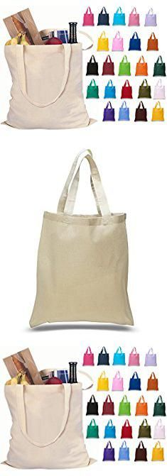 bulk canvas tote bags set of 24 blank cotton tote bags reusable 100