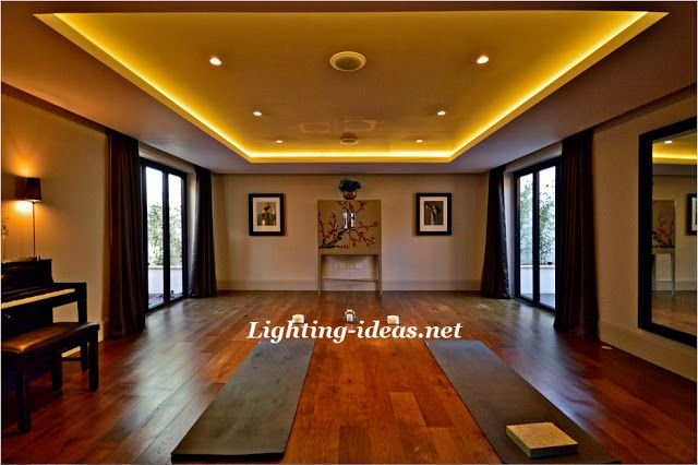 How To Install Led Strip Lights Innovative Salon With Ceiling Led
