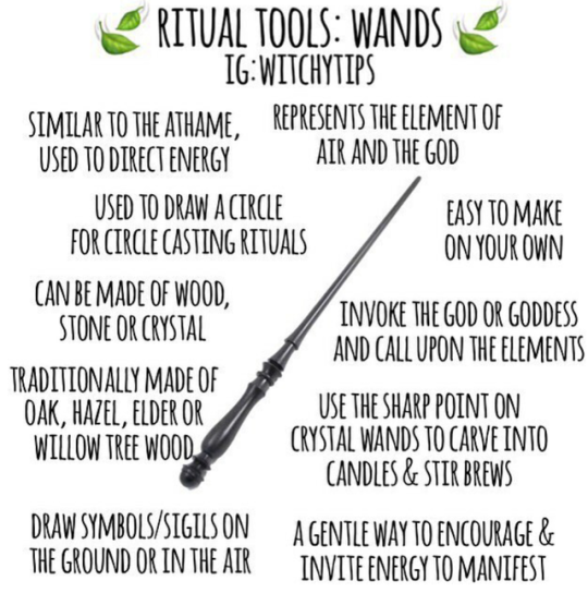 Ritual Tools found on IGwitchytips