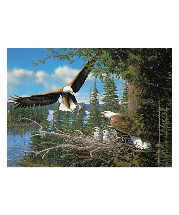 Look at this Nesting Eagles 1,000-Piece Puzzle on #zulily today!