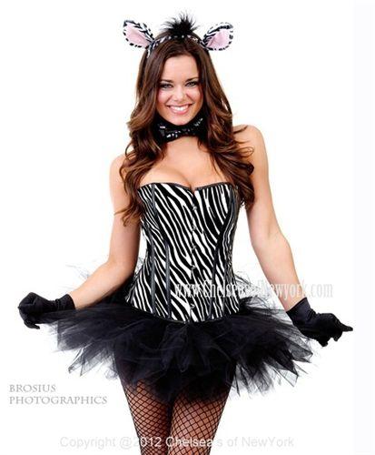 9157fb74da Zebra Print Costume   Enlarge Wild Thing Jennifer Lopez Wore A ...
