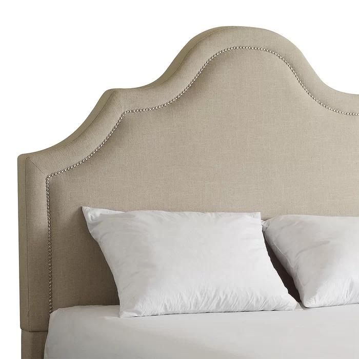Isolde Upholstered Panel Headboard in 2020 Upholstered