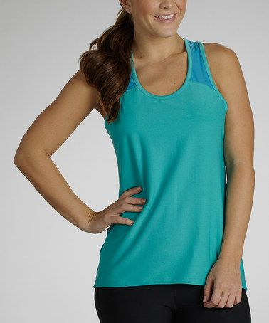 Take a look at this Cerulean & Hawaiian Ocean Summer Delight Tank by Marika on #zulily today!