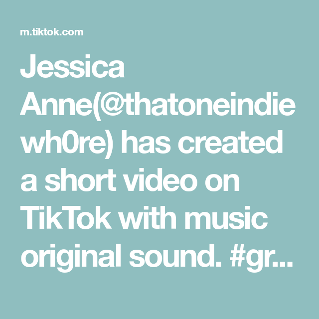 Jessica Anne Thatoneindiewh0re Has Created A Short Video On Tiktok With Music Original Sound Greenscreen In 2021 The Originals How To Cook Shrimp Name Suggestions