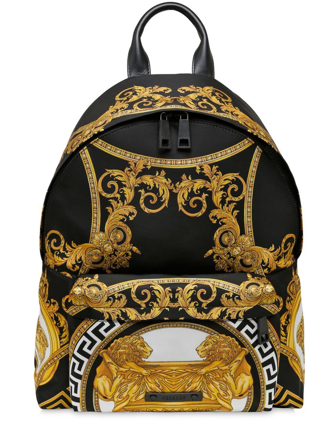 fc5fa8394a versace shoes cheap, VERSACE COUPE DES DIEUX PRINTED NYLON BACKPACK ...