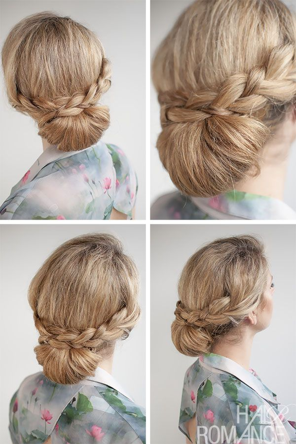 Groovy 1000 Images About 30 Buns In 30 Days On Pinterest French Braid Short Hairstyles Gunalazisus