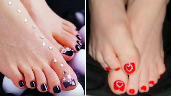 Nail Art Design Images Feet Hession Hairdressing