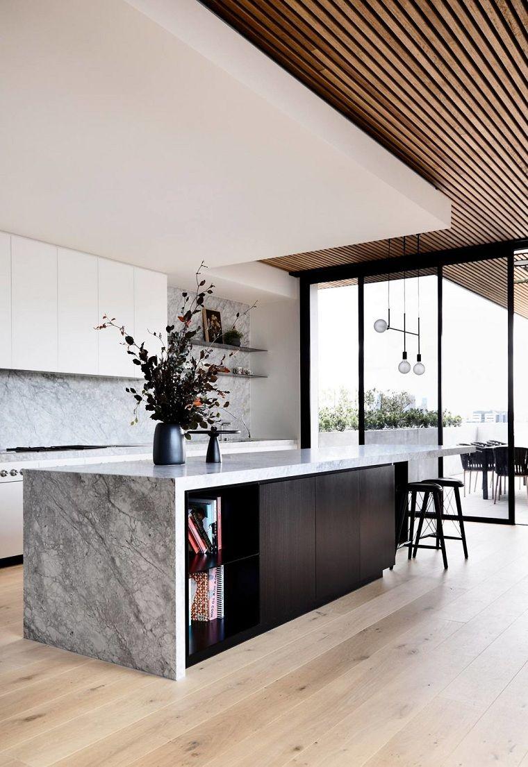 Cocinas modernas con isla - 40 proyectos de los mejores ...