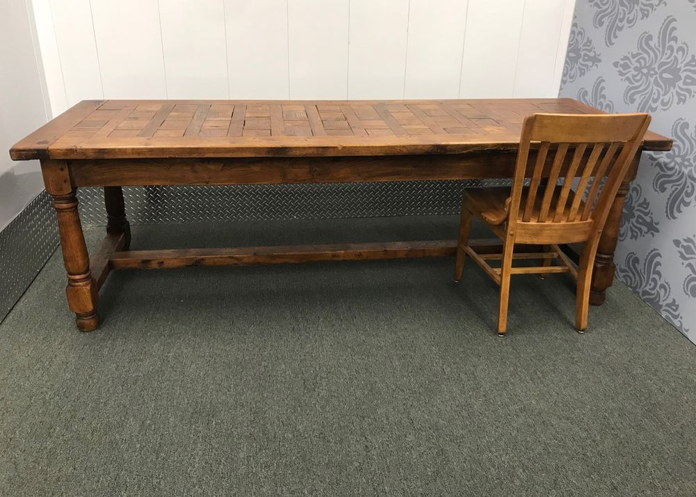 Groovy Antique Harvest Table 90 Long Kitchen Farm Table How To Alphanode Cool Chair Designs And Ideas Alphanodeonline