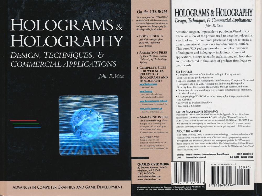 Holograms & Holography: Design, Techniques, & Commercial