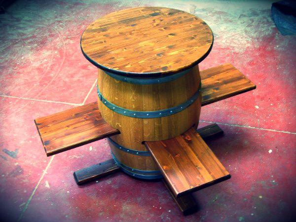 Botte Tavolo ~ Sostenibile.com botti darredo.jpg 600×450 green concept pinterest