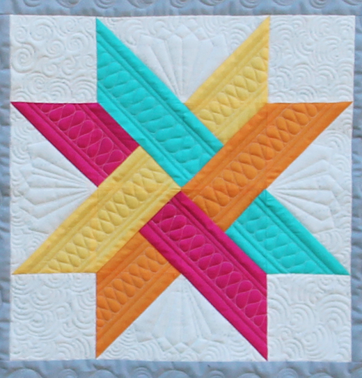 The Merope Star Block (Quilting Land) #starquiltblocks