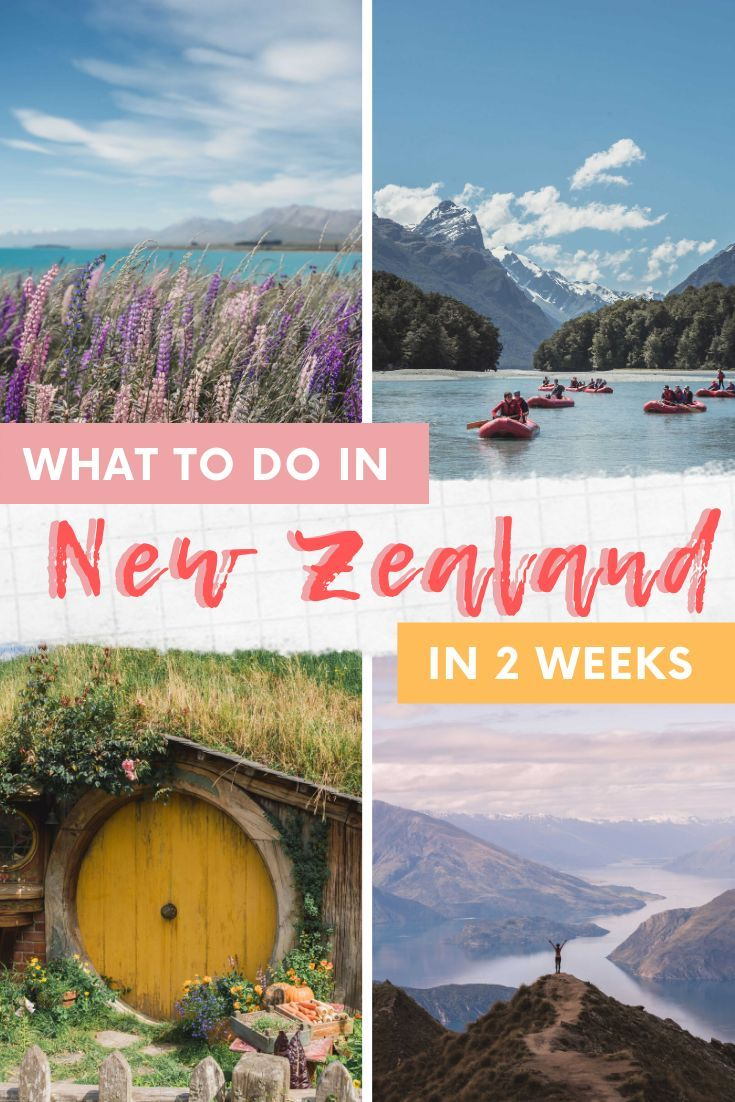 What to do in New Zealand in two weeks