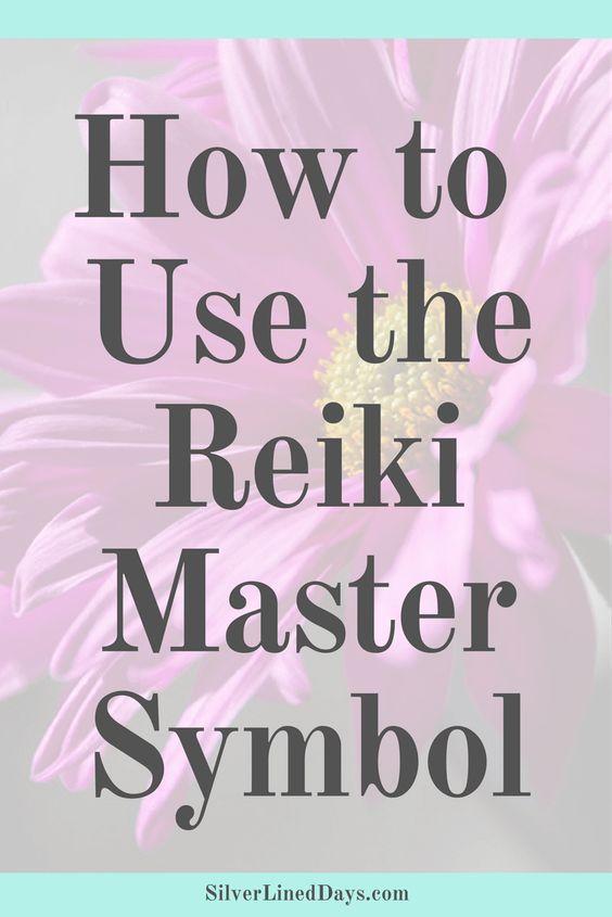 How To Use The Reiki Master Symbol Reiki Healer Reiki