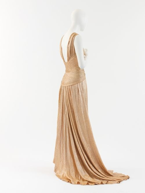 Coco Chanel evening dress ca. 1934 via The Costume Institute of the ...