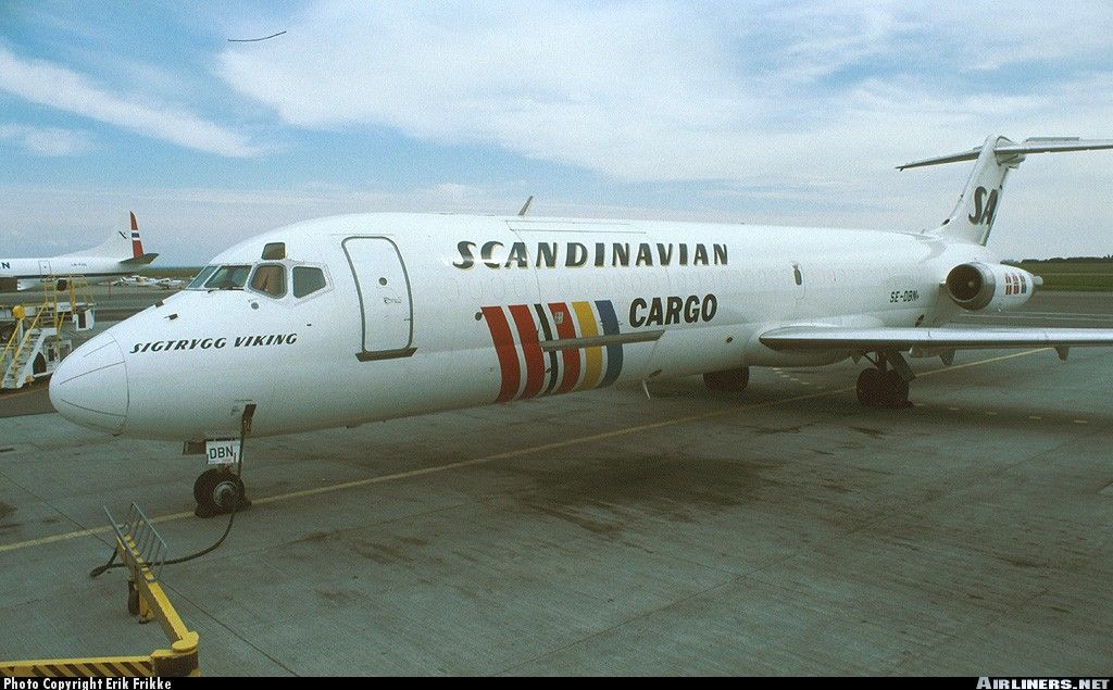 Scandinavian Airlines Sas Cargo Mcdonnell Douglas Dc 9 33f Copenhagen Kastrup Cph Ekch Scandinavian Airlines System Scandinavian Aviation History