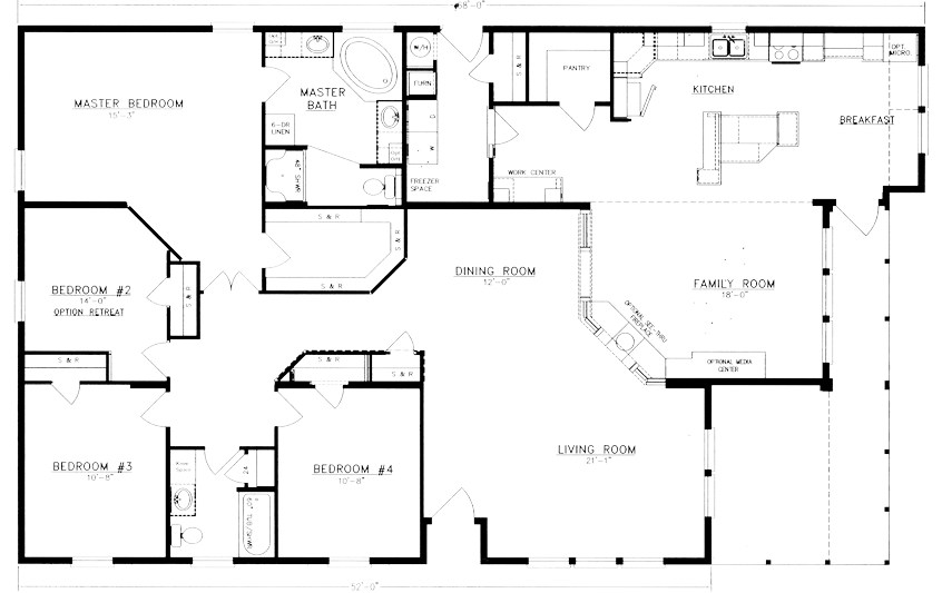 1000 images about 4 bedroom single family blue prints on pinterest floor plans house plans and home floor plans
