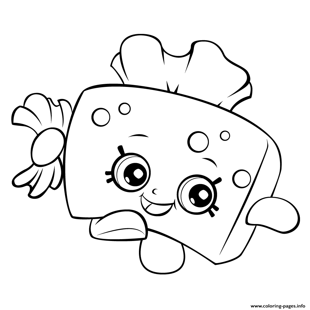 peachy shopkins coloring pages - photo#39