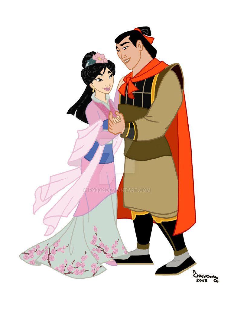 36.Mulan y Shang by Rob32