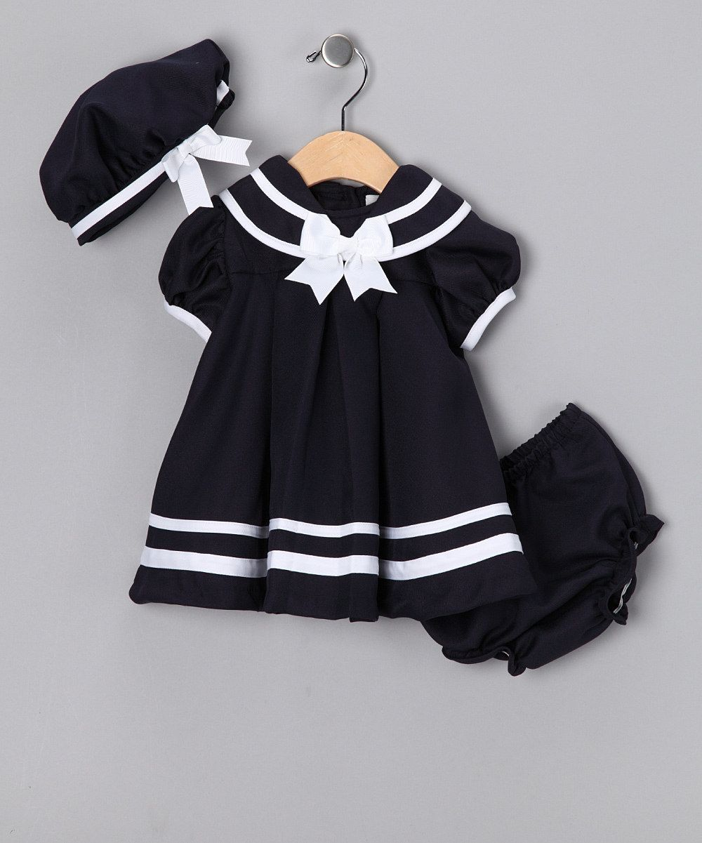 51ce8b1bb6e3a I love a good sailor outfit :) | Things to do | Baby Dress, Nautical ...