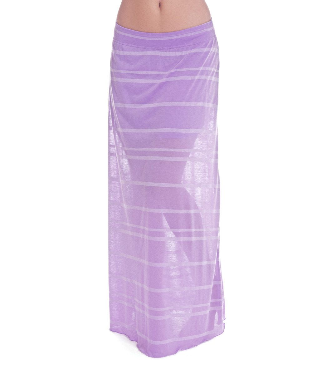 Another great find on #zulily! Soybu Orchid Stripe Willow Maxi Skirt by Soybu #zulilyfinds