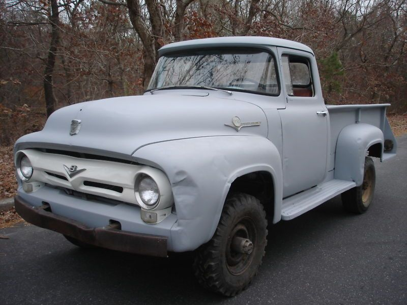 1956 Ford F250 Napco Pickup 4x4 Original Super Rare Four Wheel