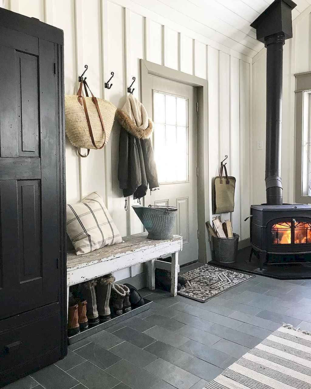 Photo of 01 stunning farmhouse entryway decor ideas – Homekover