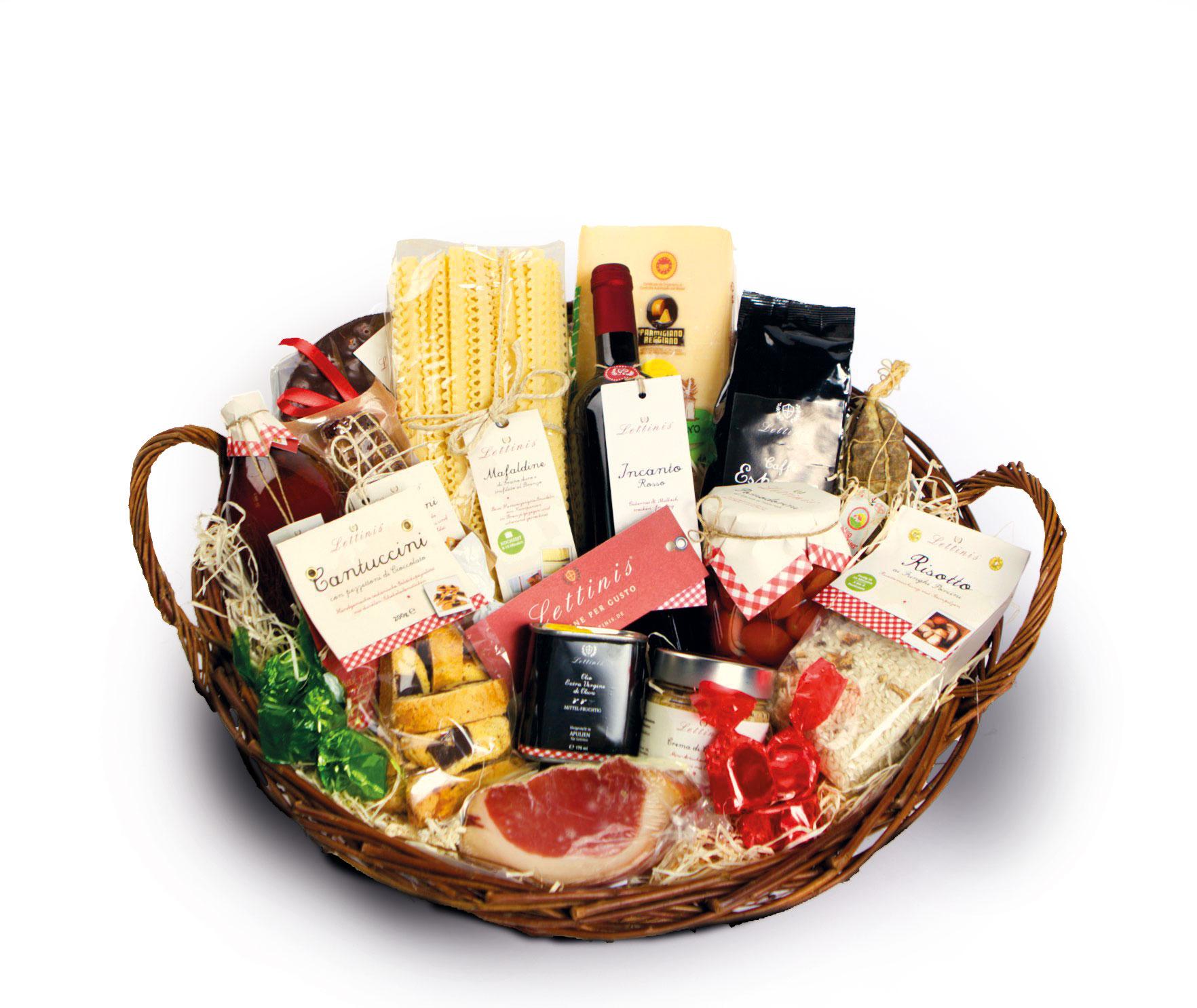Italienischer Geschenkkorb Bella Figura Alles Fur Den Grossen Genuss Aus Italien Geschenkkorb Prasentkorb Kulinarische Geschenke