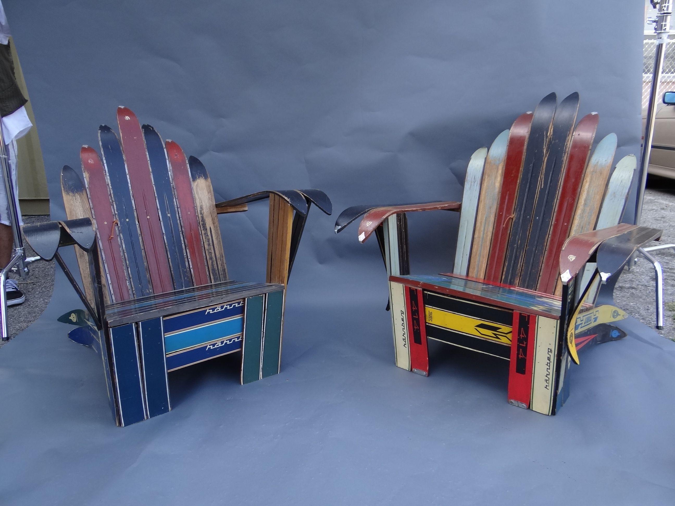 Stupendous Diy Ski Airondack Chairs For Dave Adirondack Chairs Download Free Architecture Designs Oxytwazosbritishbridgeorg