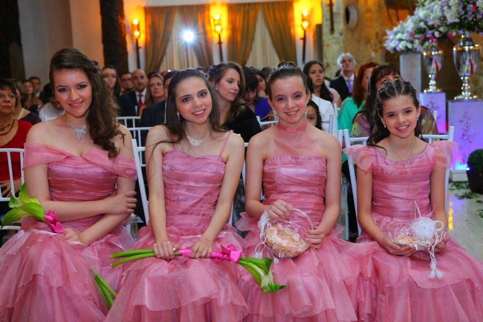 #damadehonra #Madrinhas vestido rosa