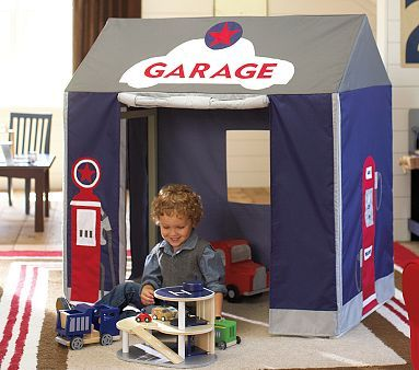 garage playhouse!!! $150 pottery barn kids  sc 1 st  Pinterest & garage playhouse!!! $150 pottery barn kids | For Ben | Pinterest ...
