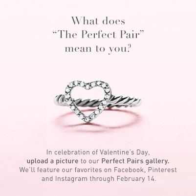All I Want For Valentine S Day Yerman Perfect Pair Valentines Heart Ring